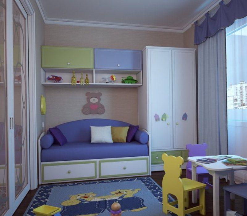Детский уголок своими руками в однокомнатной квартире 92