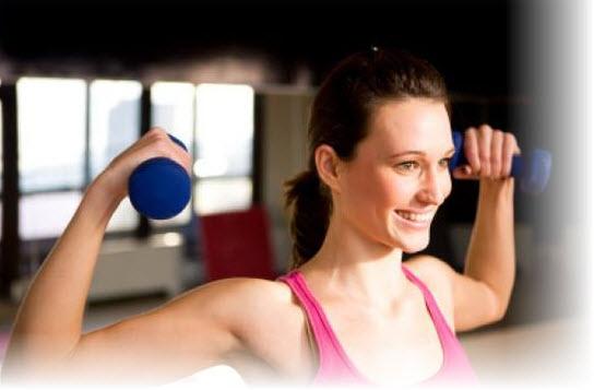 Упражнения с гирей на силу удара