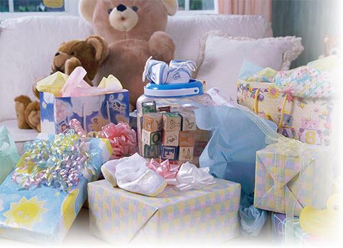 Подарки для новорожденного и мамы 129