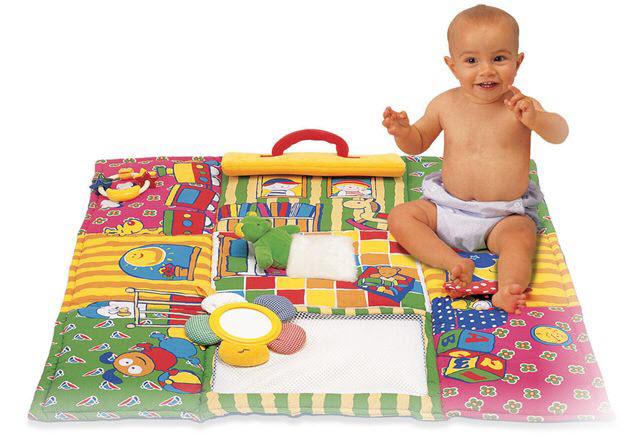 Как сделать коврик своими руками для детей