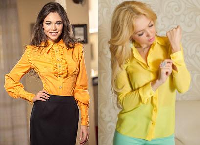 Фасоны модных блузок 2015 с доставкой
