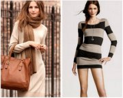Модные платья из трикотажа