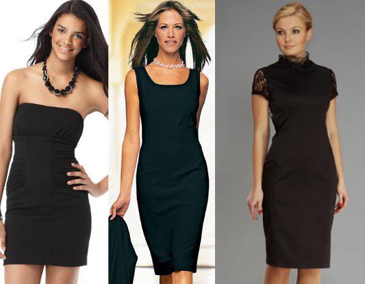 Как сшить маленькое черное платье своими руками