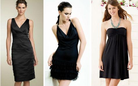 Как шить маленькое черное платье