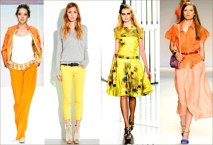 Модные цвета лета
