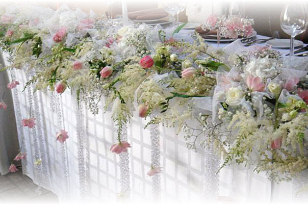 Украсить стол на свадьбу своими руками фото 4