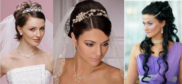 Греческие прически на короткие волосы на свадьбу