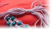 Как завязать узлы на браслетах