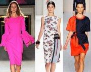 Модные цвета весна-лето в одежде