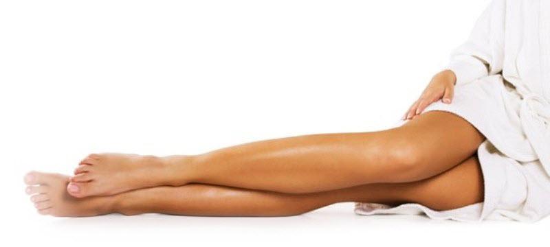 как сделать колени худыми и стройными