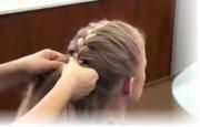 Плетение косичек обучение колосок