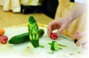 Карвинг из овощей и фруктов видео