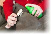 Как почистить кожаную куртку?