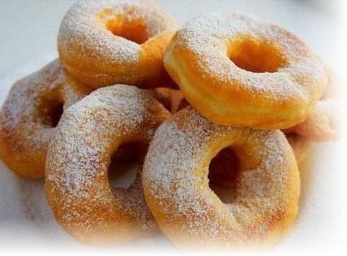 как приготовить ровные пончики