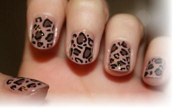 Как сделать леопардовый маникюр пошагово фото 448